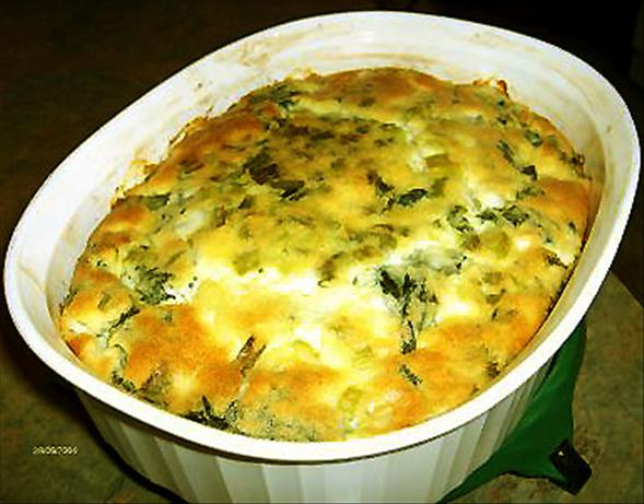 Impossible Greek Spinach Pie. Photo by Derf