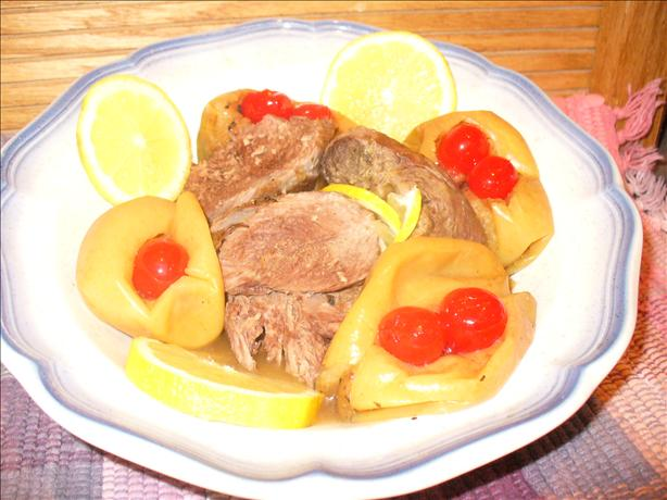 Marinated Leg of Lamb Cooked With Lemon &amp; Apple Juice. Photo by Montana Heart Song