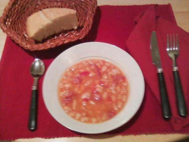 Ham Bean Soup (Pressure Cooker). Photo by Chef #372041