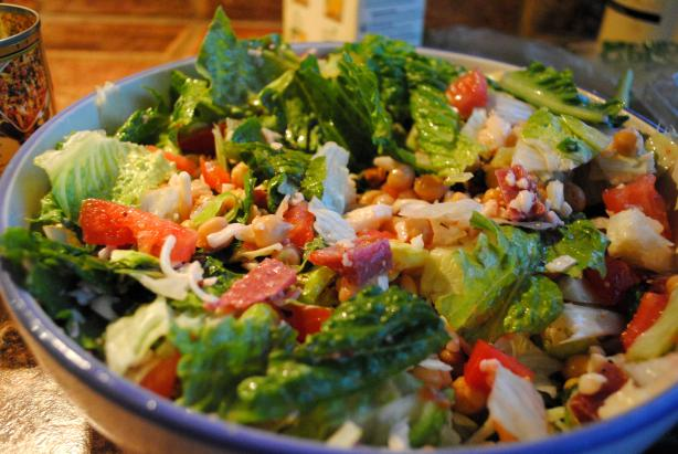 La Scala's Chopped Salad. Photo by kbaljon