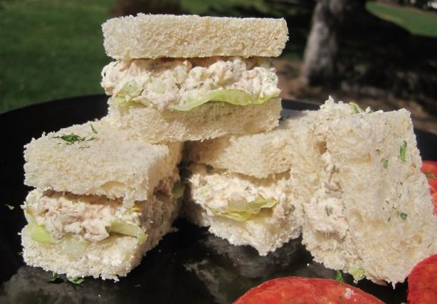 Homestyle Tuna Salad Sandwich. Photo by Lynn in MA