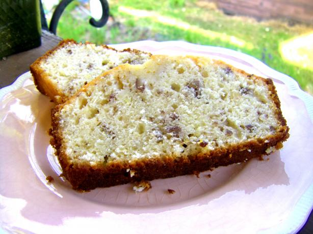 Lemon Cream Loaf W/Lemon Glaze. Photo by momaphet