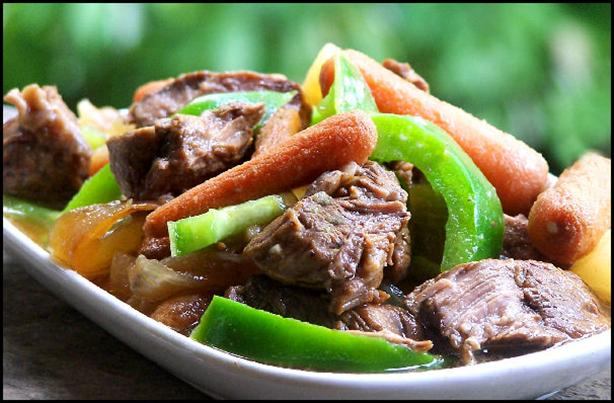 Sweet and Sour Hawaiian Beef Crock Pot. Photo by NcMysteryShopper