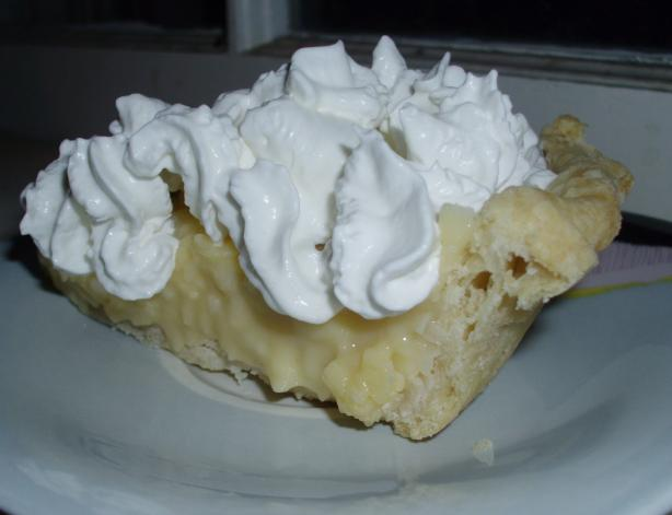 Quick Coconut Cream Pie. Photo by vivmom
