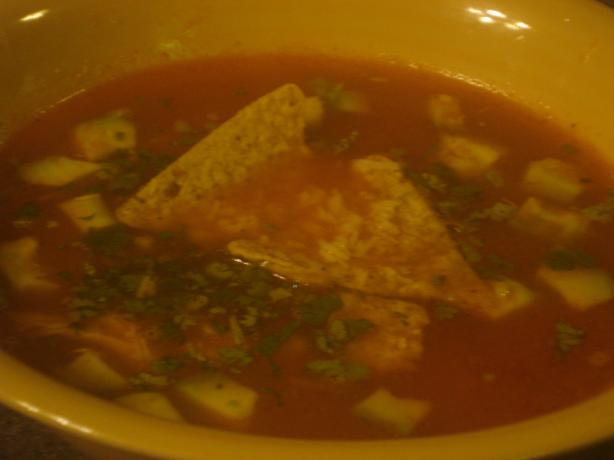 The Mansion's Chicken Tortilla Soup. Photo by Muffin Goddess
