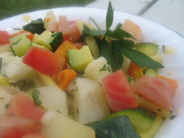 Bollito Misto Di Verdure (Boiled Mixed Vegetables). Photo by superblondieno2