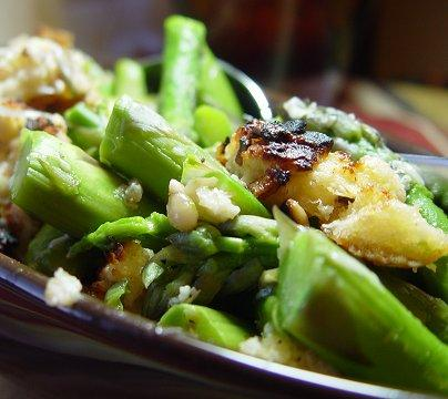 Asparagus Gratin...fancy and Good!. Photo by Beautiful BC