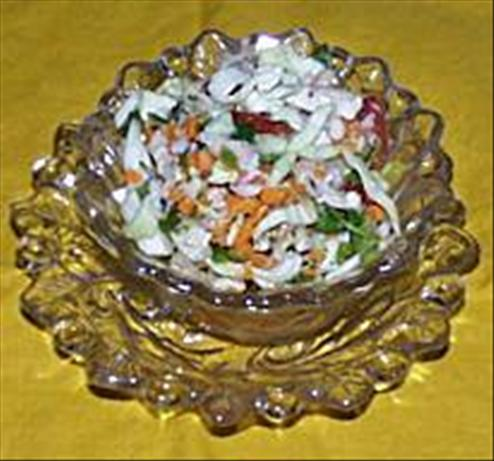 Spicy Mexican Coleslaw. Photo by Food.com *