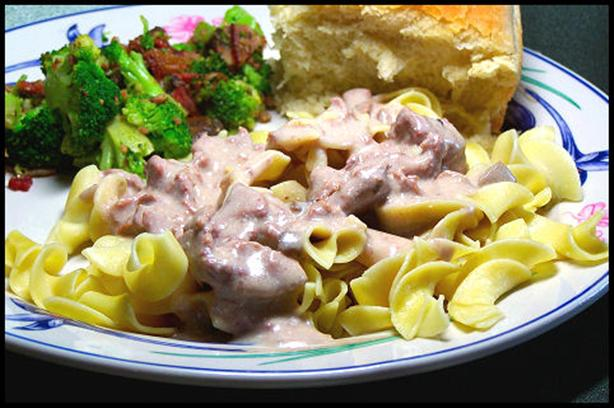 Slow Cooker Beef Stroganoff. Photo by kzbhansen