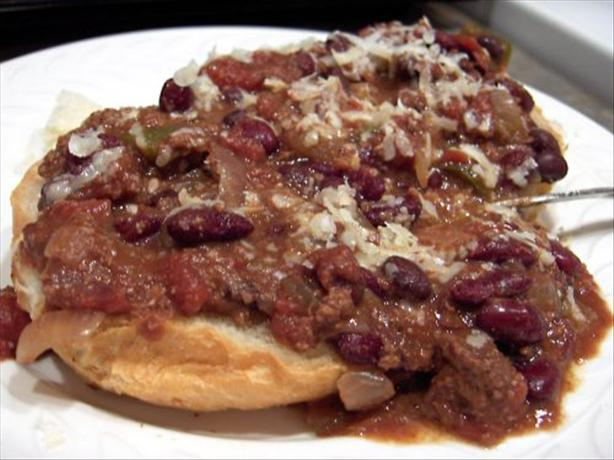 Diane's Crock Pot Chili Con Carne. Photo by Derf