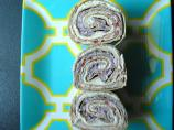 Old Glory  #1 - Tortilla Dessert Wraps (Or Pinwheels)