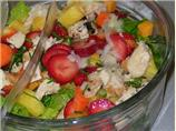 Fruity Grilled Chicken Salad Supper