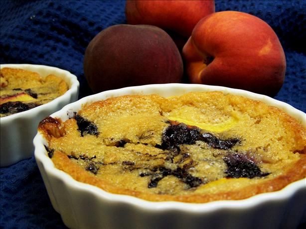 Mini Peachberry Cobblers. Photo by PaulaG