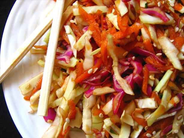 Spicy Asian Coleslaw. Photo by LUv 2 BaKE