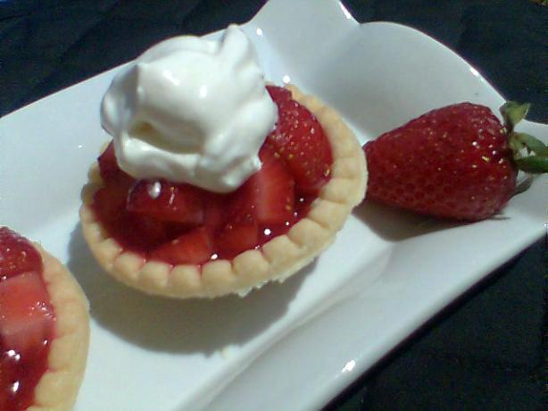 Fresh Strawberry Pie. Photo by Diana #2