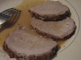 Roti De Porc Au Lait - Pork Loin With Whole Milk