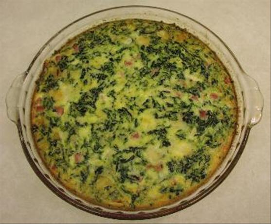 Florentine Quiche. Photo by Roxi