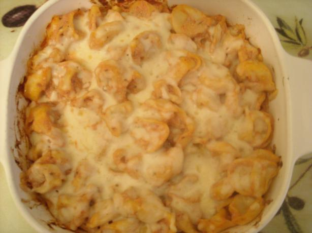 Cheesy Baked Tortellini - Giada. Photo by mums the word