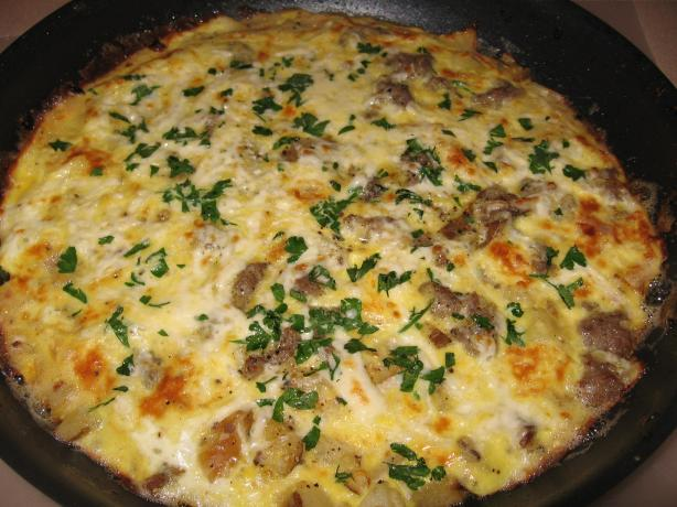 Spanish Omelette. Photo by mary winecoff
