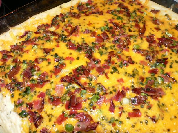 Life As I Know It: Crazy Kids and All: Thrice Baked Potato Casserole