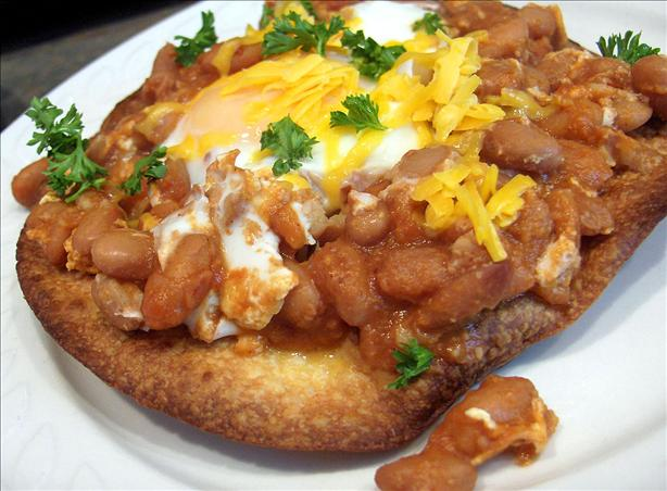 Huevos Rancheros Tostados. Photo by Derf