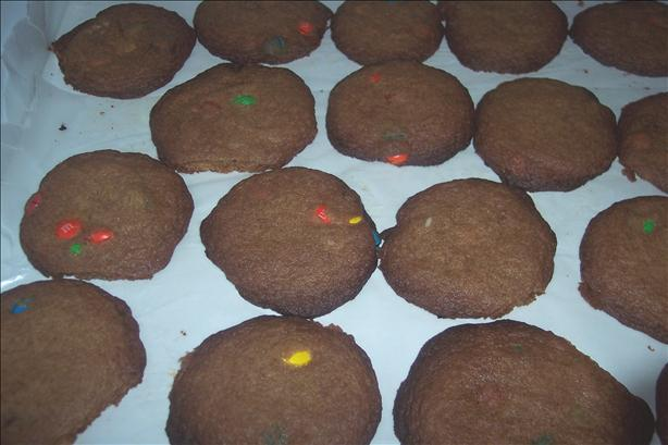 Soft M&m Cookies. Photo by tweetyfan