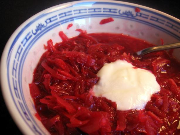 Russian Borscht. Photo by Dreamer in Ontario
