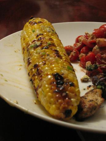 Grilled Corn With Chili Lime Butter. Photo by Dr. Jenny