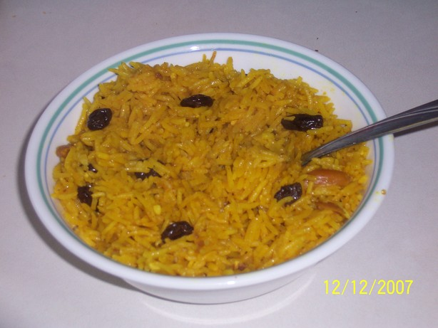 Persian-Style Basmati Rice Pilaf. Photo by mizzlizzita