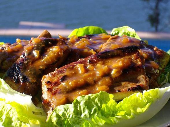BBQ Pork Spareribs. Photo by The Flying Chef