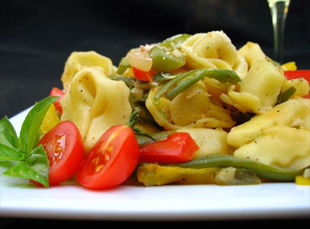 Tortellini With Vegetables. Photo by LUv 2 BaKE