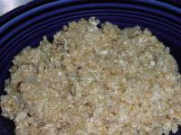 Garlic Quinoa