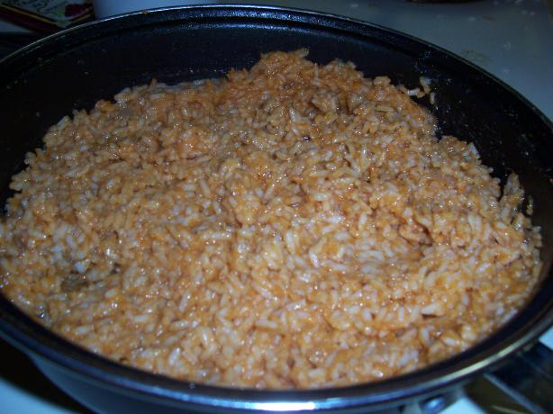 Easy Mexican Rice. Photo by Karabea