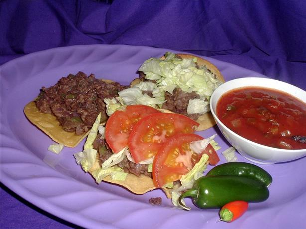 Mexican Tostados. Photo by Bergy