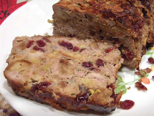 Ground Turkey Meatloaf. Photo by Derf