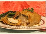 Greek Style Chicken Wrapped in Phyllo