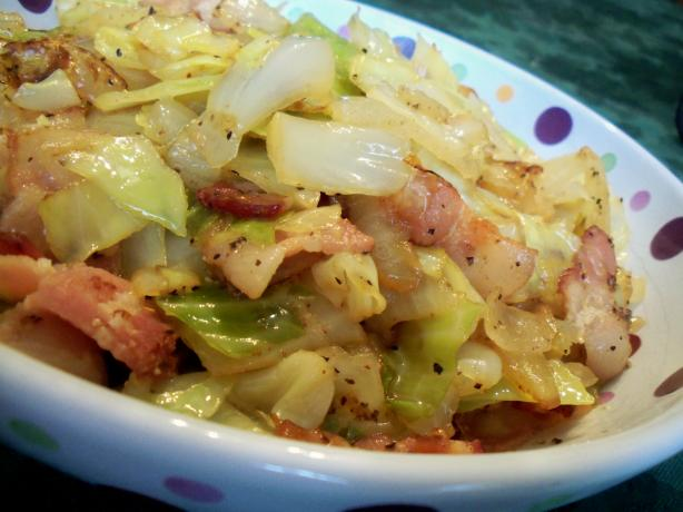 Fried Cabbage. Photo by *Parsley*