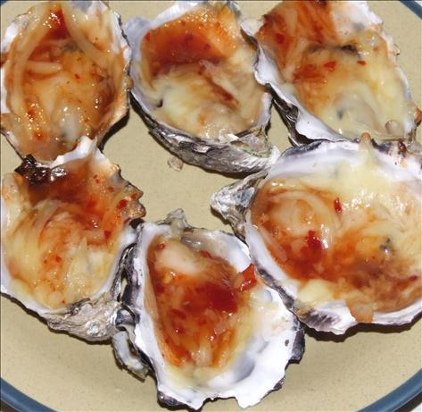 Sweet Chili Oysters. Photo by Peter J