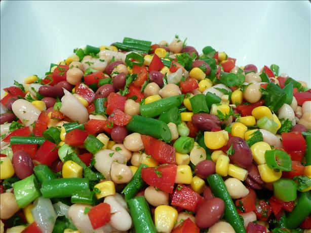 Christmas Bean Salad. Photo by Stardustannie