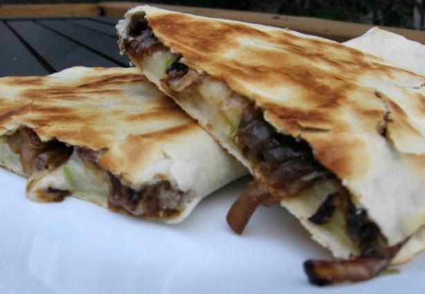 Apple Brie Quesadillas. Photo by K9 Owned