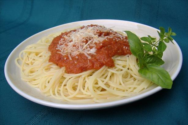 Easy Marinara Sauce. Photo by Deb's Recipes