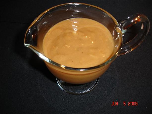 Quick and Easy Vegetarian Gravy. Photo by AprincessMOM :O)