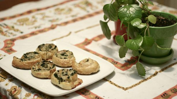 Spinach Gruyere Puff Pastry. Photo by DonnaStewart45238