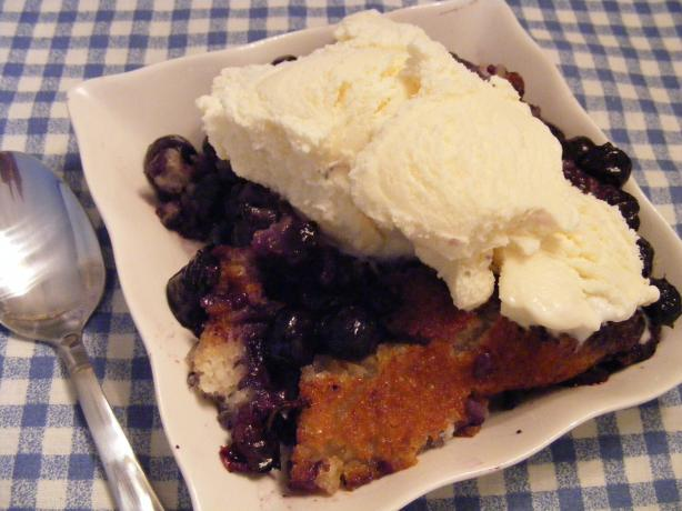 Blueberry Cobbler. Photo by Seasoned Cook
