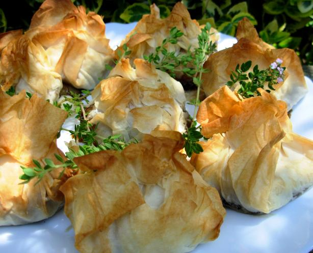 Goat Cheese Wrapped in Phyllo. Photo by French Tart
