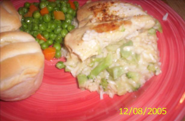 Campbell's 15-Minute Chicken, Broccoli & Rice Dinner. Photo by Chef shapeweaver ©