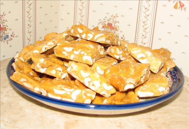 Microwave Peanut Brittle Candy. Photo by Heather Reynolds in Virginia