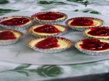 Individual Mini Cherry Cheesecakes