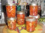 Sweet Pickled Banana Peppers. Photo by Timothy J Higgins Eva