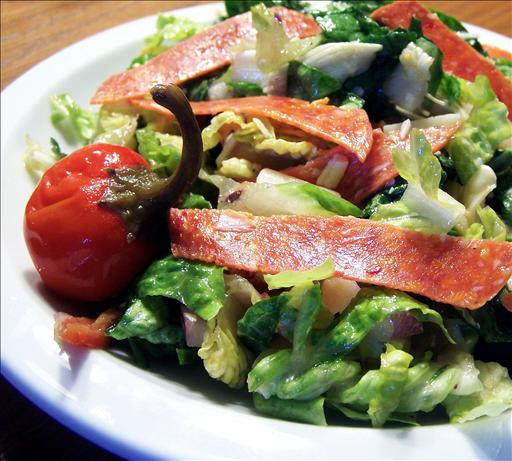 Chopped Italian Salad. Photo by PaulaG